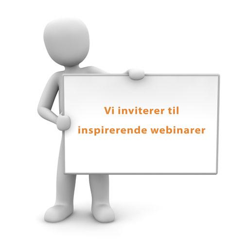 Webinarplan for Vitani-webinarer til efteråret