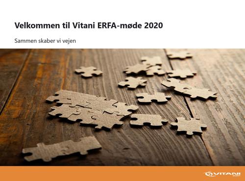 Et vellykket ERFA-møde for AEOS-slutkunder
