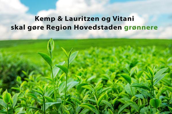 Kemp & Lauritzen og Vitani skal gøre Region Hovedstaden grønnere