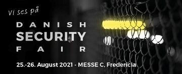 Vi udstiller på Danish Security Fair d. 25. – 26. august